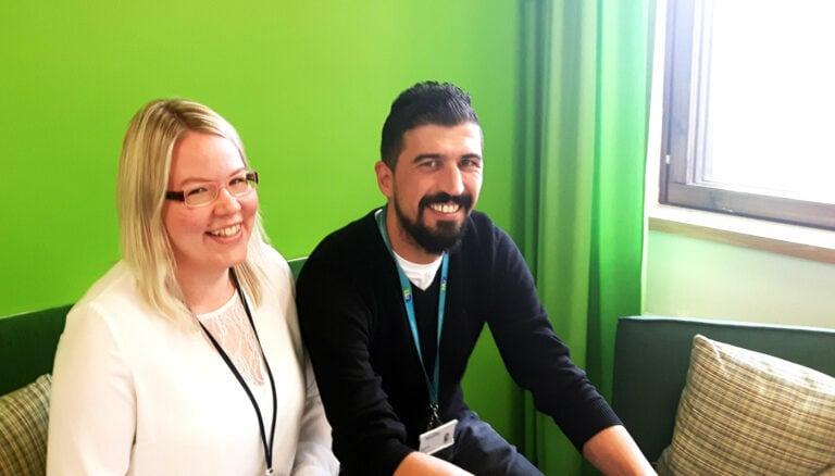 Huomenta-ketjun yrittäjäkonsulteiksi Selo Ertürk ja Emma Ketopelto